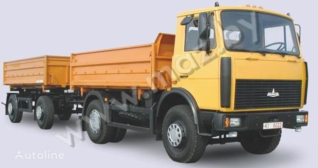 καινούριο ανατρεπόμενο φορτηγό MAZ 5551