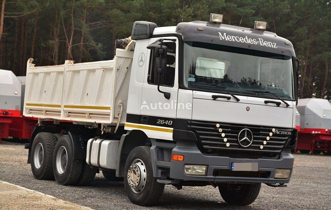 ανατρεπόμενο φορτηγό MERCEDES-BENZ ACTROS 2640