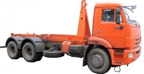 φορτηγό φορτωτής με γάντζο KAMAZ KO-452-13