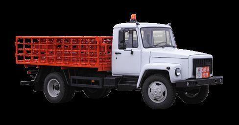 καινούριο φορτηγό καρότσα GAZ KT-602-01