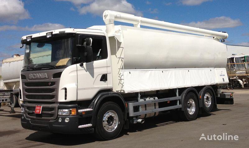 καινούριο φορτηγό μεταφοράς σιλό SCANIA 360 κατά ανταλλακτικό