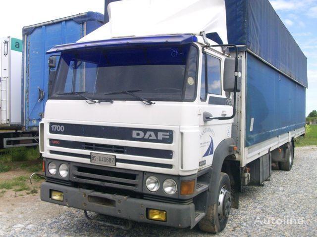 φορτηγό μουσαμάς DAF 1700