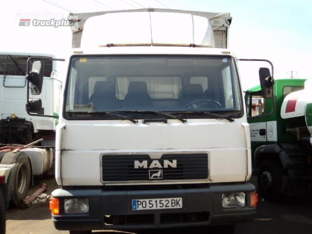 φορτηγό μουσαμάς MAN 12 .224 LL-K
