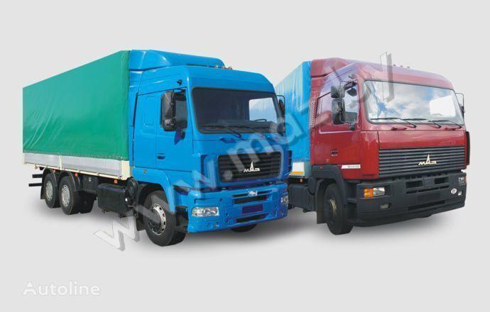 φορτηγό μουσαμάς MAZ 6312 (A5, A8, A9)