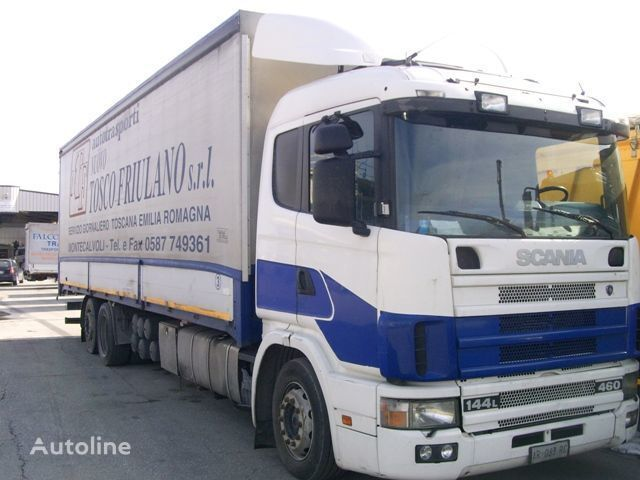 φορτηγό μουσαμάς SCANIA 144L460