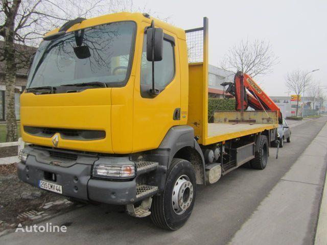 φορτηγό πλατφόρμα RENAULT KERAX 340 PALFINGER PK - 12080