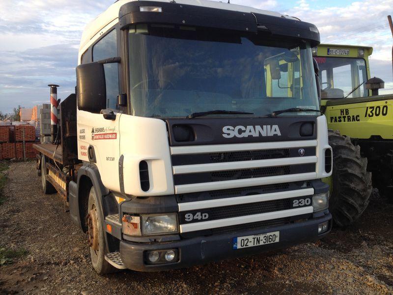 φορτηγό πλατφόρμα SCANIA 94D
