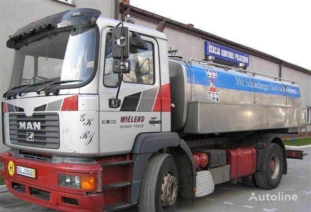 φορτηγό βυτίο μεταφοράς γάλακτος MAN 19.364
