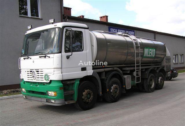 φορτηγό βυτίο μεταφοράς γάλακτος MERCEDES-BENZ ACTROS 3340