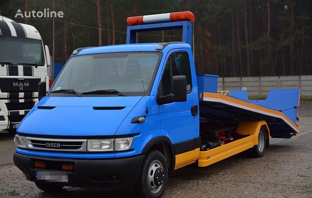γερανοφόρο φορτηγό όχημα οδικής βοήθειας IVECO DAILY 50C12