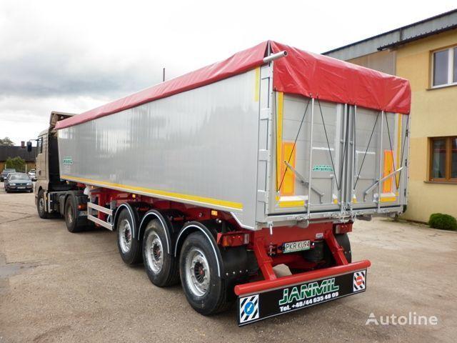 καινούριο ημιρυμουλκούμενο ανατροπής JANMIL 50 cbm ALU, SAF -LIGHT 5800 kg !!!