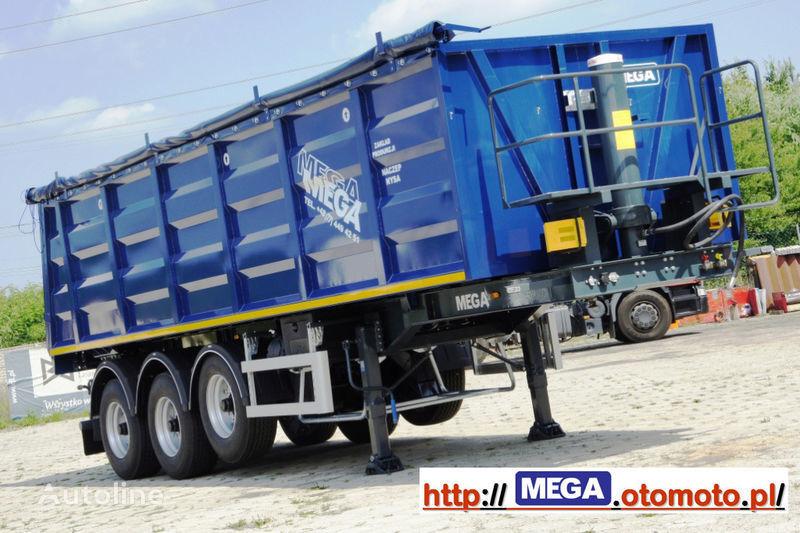 καινούριο ημιρυμουλκούμενο ανατροπής MEGA 2013 SALE !!! 33 M³ STAHL KIPPER MIT KLAPE = FUR Geröll & Bitume