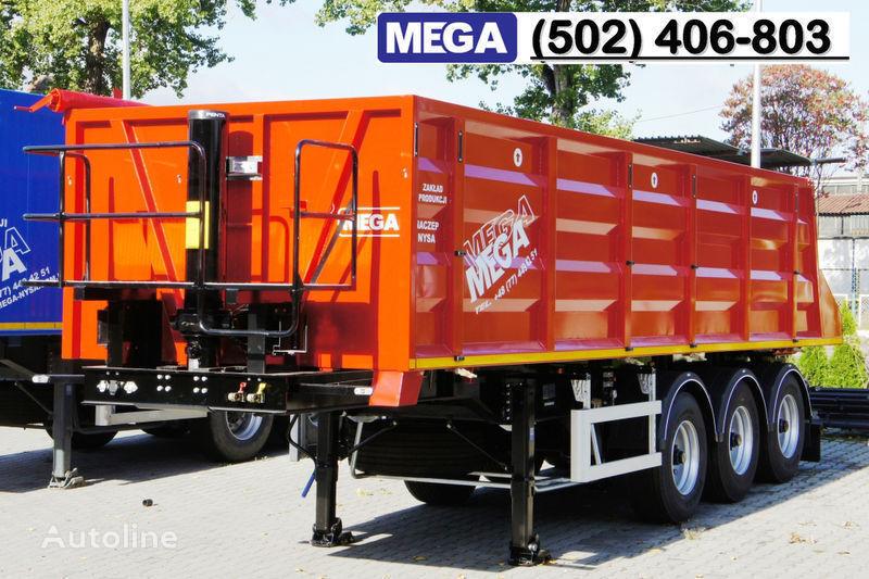 καινούριο ημιρυμουλκούμενο ανατροπής MEGA 28/8360 kcc - camosval 30 kub.m., pama k tyagachu 6x4, klapan!