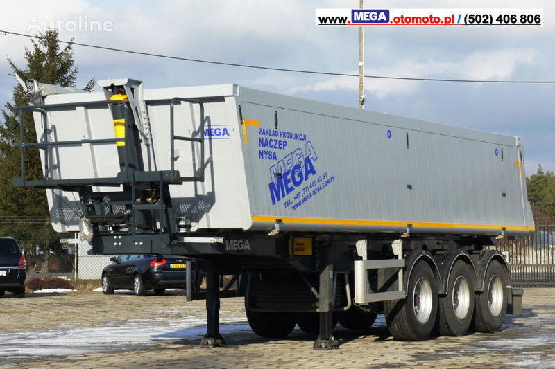 καινούριο ημιρυμουλκούμενο ανατροπής MEGA 30 m³ - SUPER LIGHT - 5,300 KG - SUPER PRICE !!! READY !!!