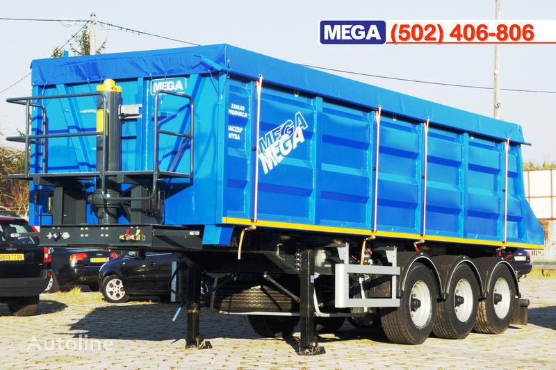 καινούριο ημιρυμουλκούμενο ανατροπής MEGA 35/9200 kcc - camosval 35 kub.m., pama k tyagachu 6x4, klapan!