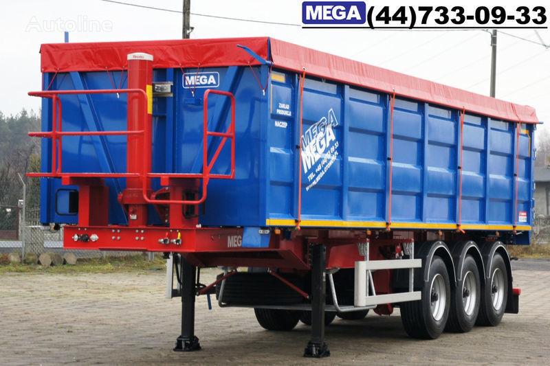 καινούριο ημιρυμουλκούμενο ανατροπής MEGA 40 kub., klapan-dverey, 40/9200 KD !! GOTOV !!
