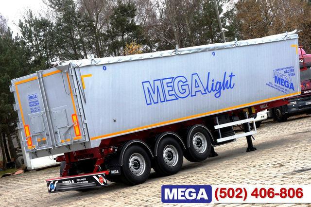 καινούριο ημιρυμουλκούμενο φορτηγό μεταφοράς σιτηρών KARGOMIL 42 - 45 m³ Alubox - ULTRA - light only 5,800 kg weight ! READY T