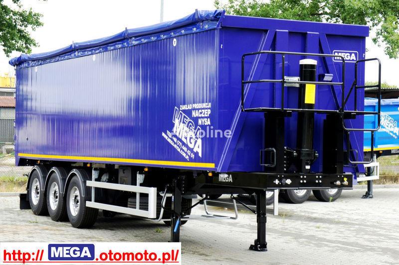 καινούριο ημιρυμουλκούμενο φορτηγό μεταφοράς σιτηρών MEGA 55/11300 KD