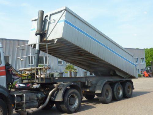 ημιρυμουλκούμενο φορτηγό μεταφοράς σιτηρών SAMOSVALNAYa SISTEMA HYVA ( Gidravlika na tyagach )
