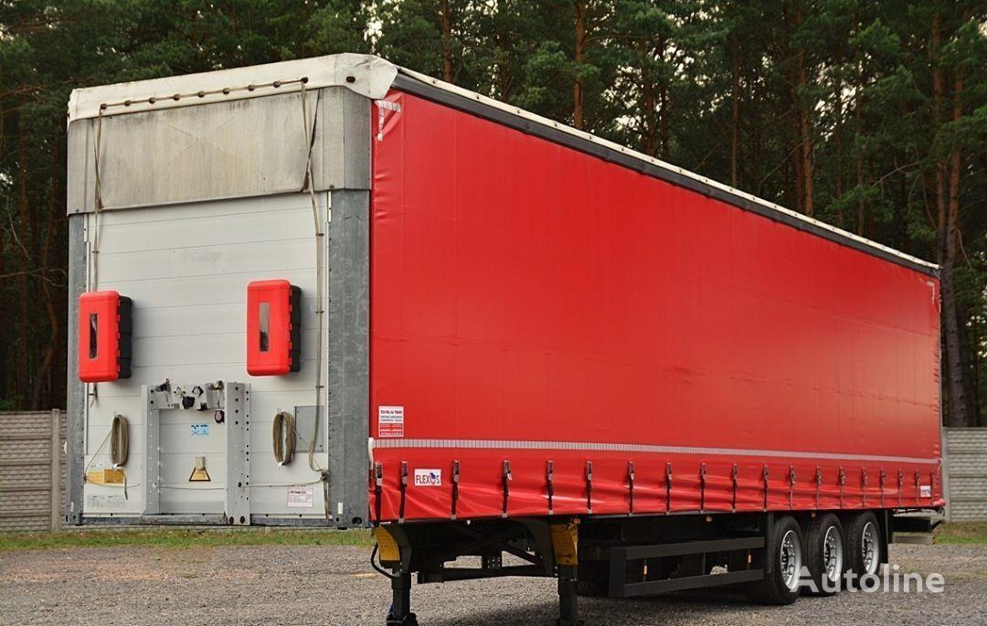 ημιρυμουλκούμενο μουσαμάς SCHMITZ Cargobull FIRANKA VARIOS MEGA Certyfikat.XL