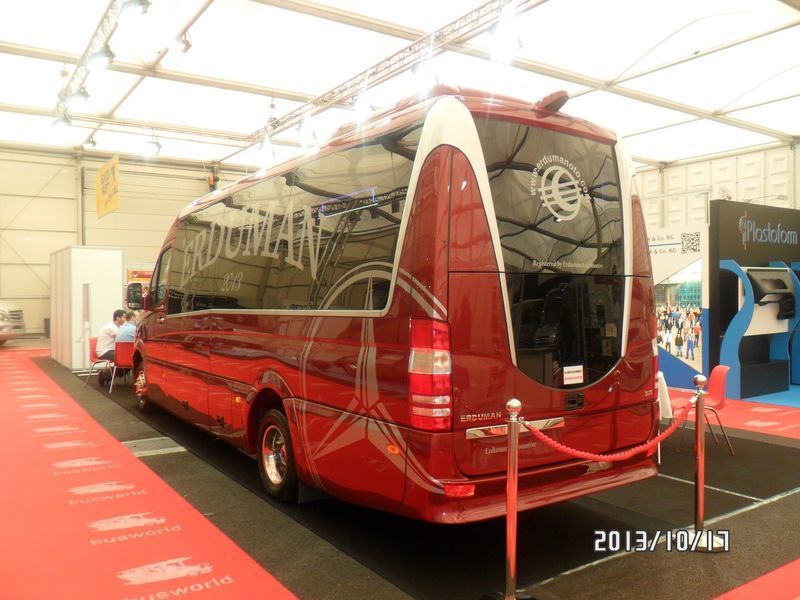 καινούριο μικρό επιβατικό λεωφορείο MERCEDES-BENZ SPRINTER LUXUS - ERDUMAN