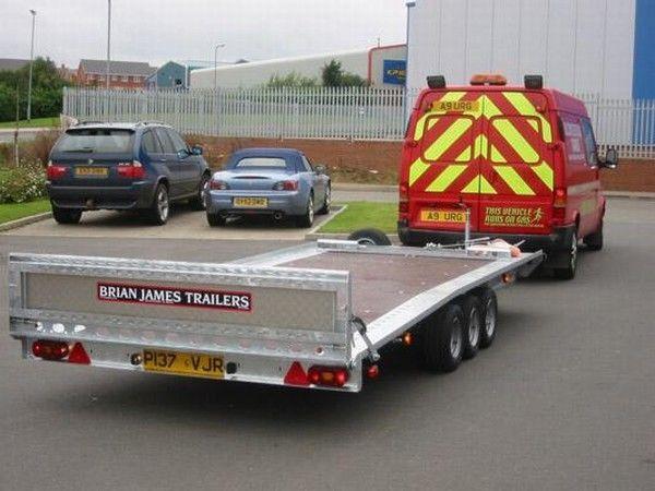 ρυμουλκούμενο αυτοκινητάμαξα BRIAN James Trailers TT-T-303