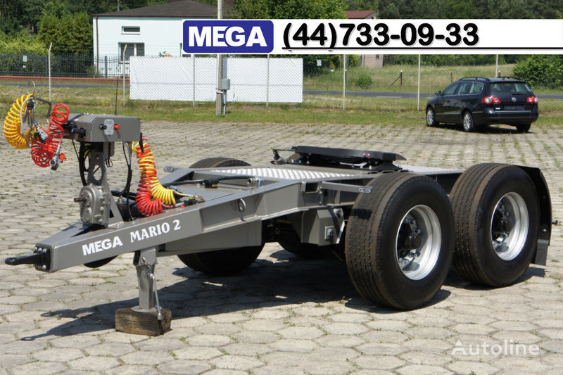 καινούριο ρυμουλκούμενο dolly MEGA 2015 SALE !!! 2 Achsen Dolly fur Kipper mit Hydraulik - BEREIT !