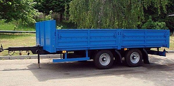 καινούριο ρυμουλκούμενο καρότσα KAMAZ SZAP-830622