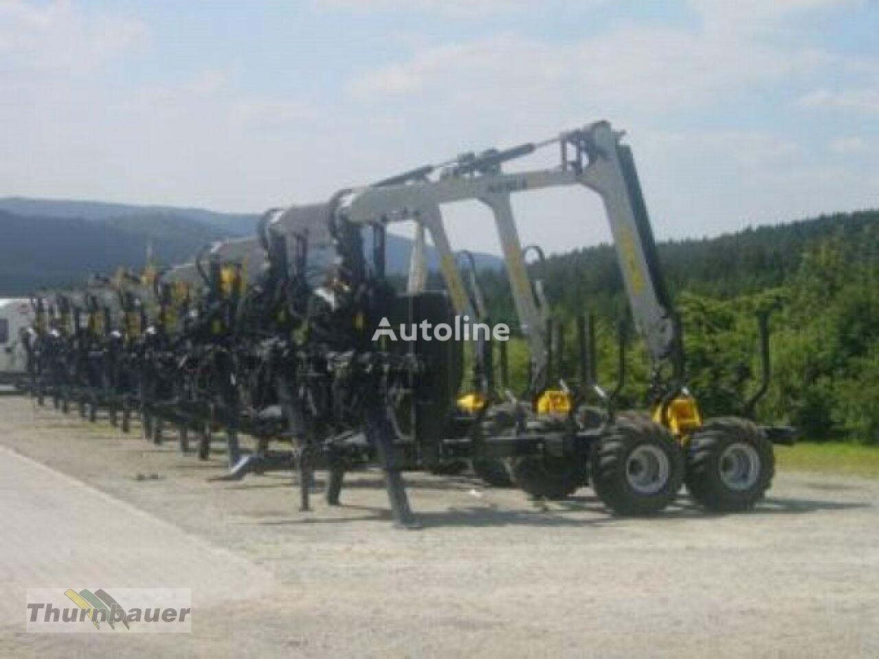 καινούριο ρυμουλκούμενο μεταφοράς ξυλείας 9T - 15 T