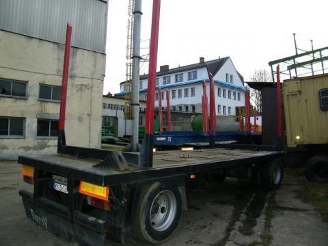 ρυμουλκούμενο μεταφοράς ξυλείας TRAILOR R 202 EN 3 L