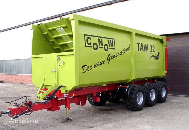 καινούριο ρυμουλκούμενο μεταφοράς σιτηρών CONOW TAW 32