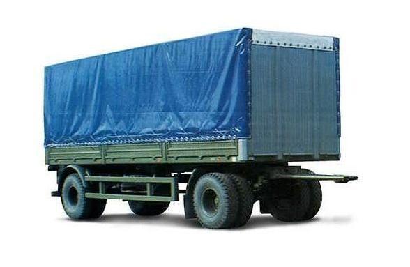 καινούριο ρυμουλκούμενο μουσαμάς MAZ 837810-014