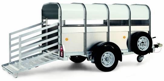 ρυμουλκούμενο όχημα μεταφοράς ζώων WILLIAMS P8