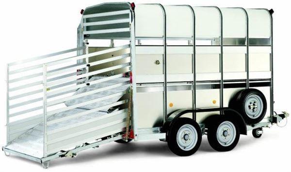 ρυμουλκούμενο όχημα μεταφοράς ζώων WILLIAMS TA510