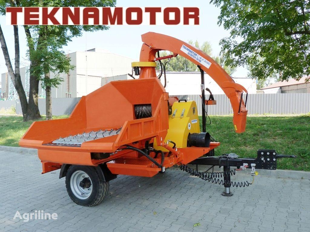 καινούριο τεμαχιστής κλαδιών TEKNAMOTOR Skorpion 350 RB