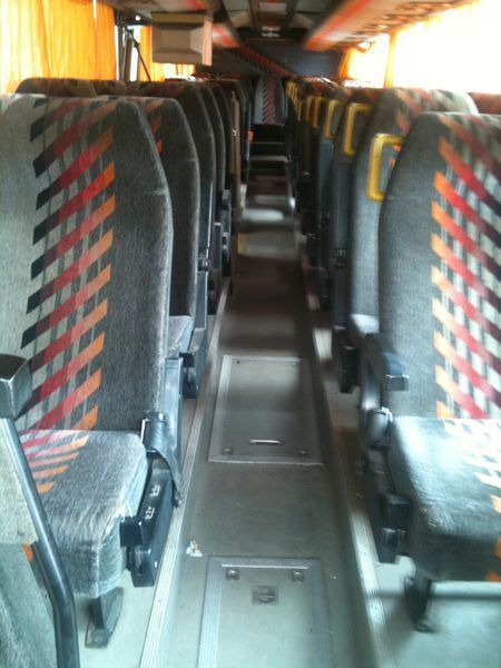 τουριστικό λεωφορείο VOLVO Vanhool