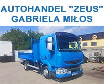 "AUTOHANDEL ""ZEUS"" Gabriela Miłos"