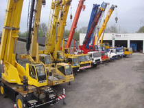 Μάντρα αποθεμάτων (στοκ) IMC International Mobile Cranes GmbH