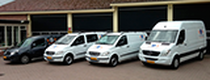 Μάντρα αποθεμάτων (στοκ) Ruinemans cargo vans