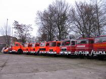 Μάντρα αποθεμάτων (στοκ) Feuerwehrtechnik