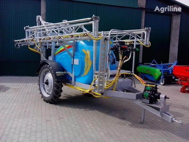 καινούριο αυτοκινούμενος ψεκαστήρας MAKSUS 2000 KAS gidravlichne rozkladannya
