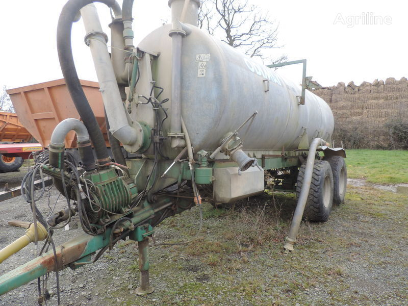 μηχάνημα διανομής υγρών λιπασμάτων Godimat tonne a lisier 12.5m3