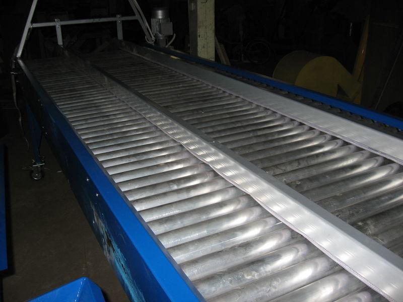 καινούρια μονάδα διαλογής inspekcionnyy rolikovyy stol - 2,5 m