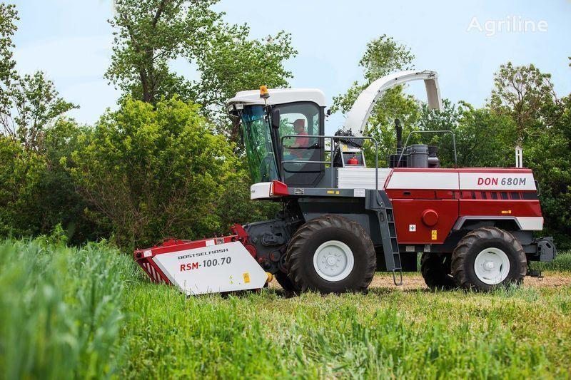 καινούρια θεριζοαλωνιστική μηχανή ζωοτροφής ROSTSELMASH DON 680M