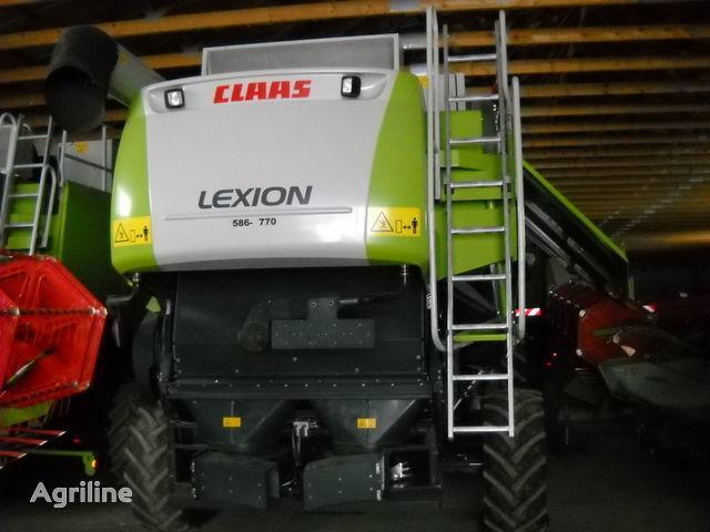θεριζοαλωνιστική μηχανή CLAAS LEXION 560
