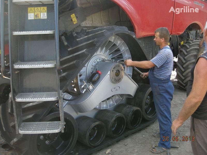 καινούρια θεριζοαλωνιστική μηχανή CLAAS rezinovye gusenicy dlya kombaynov i traktorov.