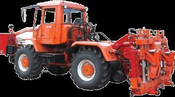 τροχοφόρο τρακτέρ Universalnaya putevaya mashina UPM-1M na baze traktora HTA-200