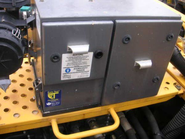 άλλος εξοπλισμός Onbekend Amberg (432)Schutzbelüft. / protective ventilation