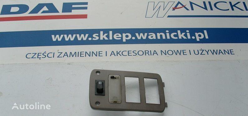 ελκυστήρας DAF Cf 65, 75, 85 για ανταλλακτικό  DAF Panel tylny, kontrolka, sterownik ogrzewania WEBASTO, COVER PLATE WEBASTO
