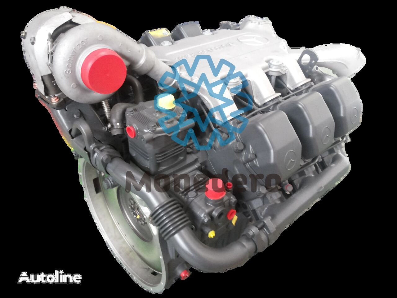 φορτηγό για κινητήρας  Mercedes Benz OM 501 LA